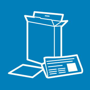 Paper and cardboard icon