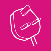 Waste electrical and electronic equipment icon